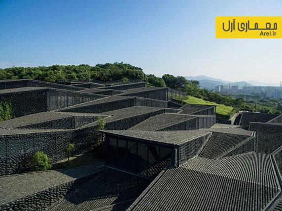 معماری و طراحی موزه ملی آکادمی هنر چین توسط کنگو کوما