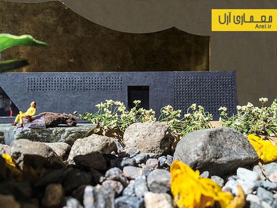 طراحی کانسپتچوال و معماری اسلامی مسجدی در ایسلند