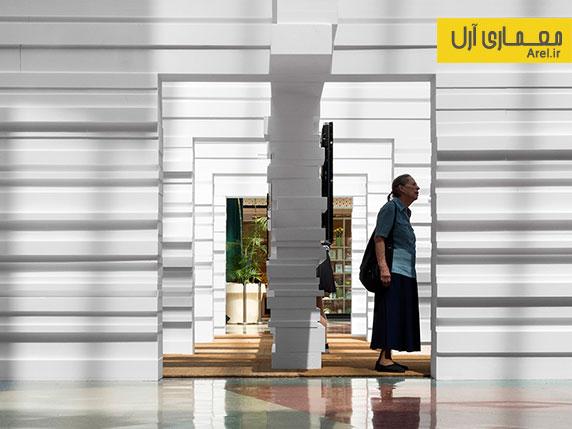 طراحی داخلی موزه سالوادور دالی در مرکز یک فروشکاه تجاری