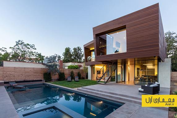 معماری و طراحی داخلی ویلای مدرن