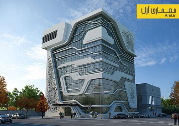 طراحی ساختمان شرکت گاز