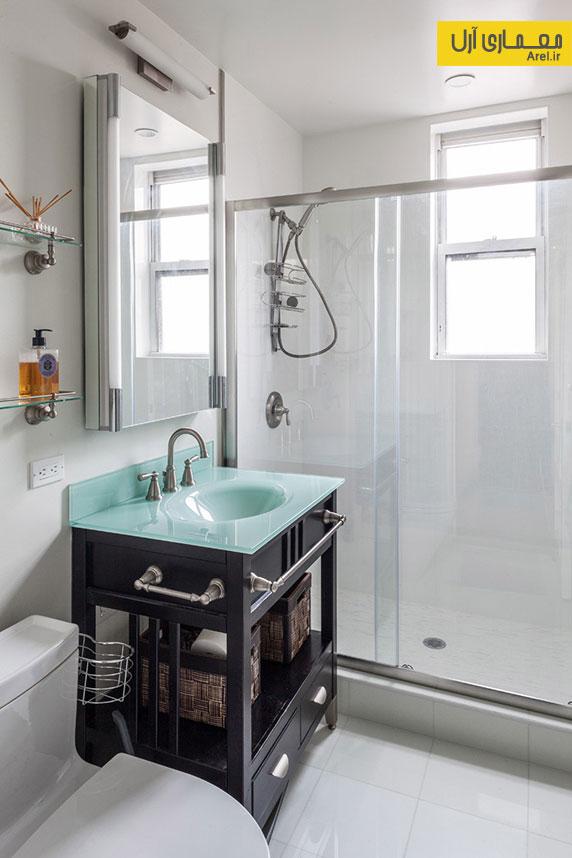 قبل و بعد طراحی و بازسازی آپارتمانی در نیویورک