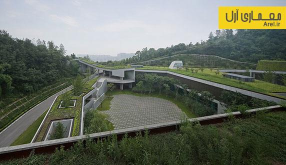 معماری سبز: طراحی مجموعه فرهنگ و ارتباطات چین