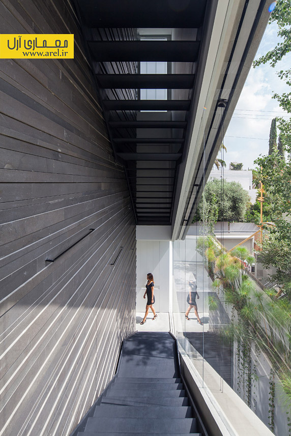 نمای ساختمان بتنی،معماری ساختمان