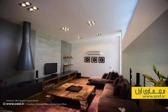 طراحی و معماری ویلا، جایزه معماری داخلی 93