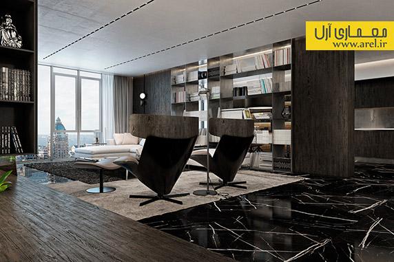 طراحی داخلی منزل لوکس،دکوراسیون داخلی آپارتمان لاکچری