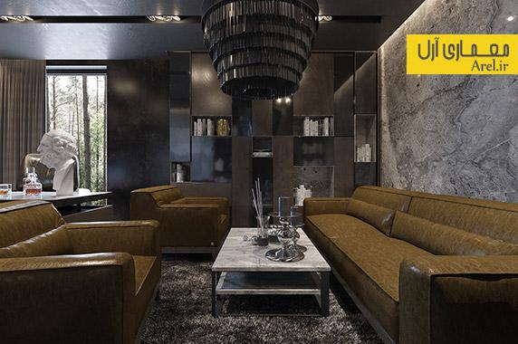 طراحی داخلی منزل لاکچری،دکوراسیون منزل