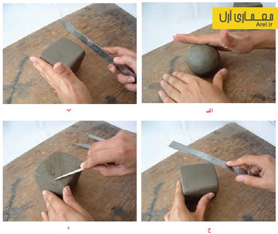 ماکت سازی با وسایل ساده دانلود کتاب حجم شناسی و ماکت سازی هنرستان   آرل