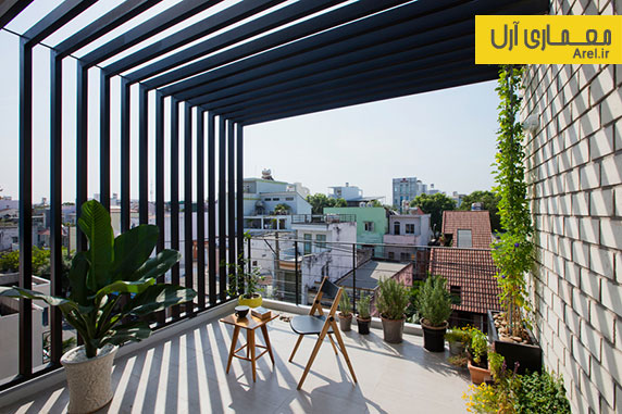 معماری و طراحی داخلی خانه ای باریک به عرض 4 متر در تایوان