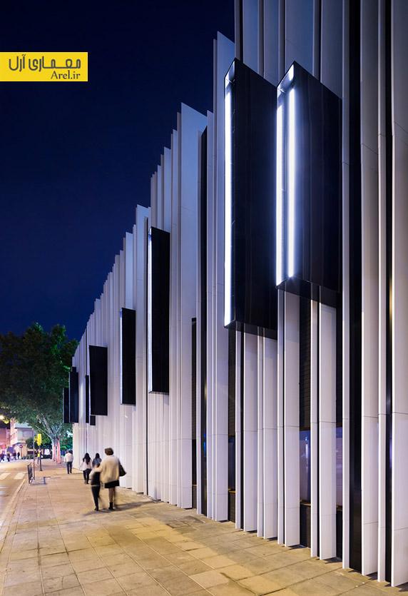 طراحی نمای ساختمان،نمای آلومینیومی