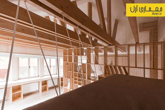 طراحی داخلی و بازسازی یک گاراژ و تبدیل آن به استودیوی معماری