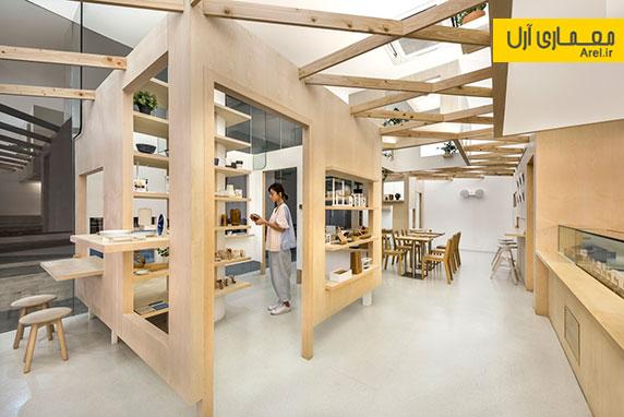 طراحی داخلی مجموعه ورکشاپ دانشجویی