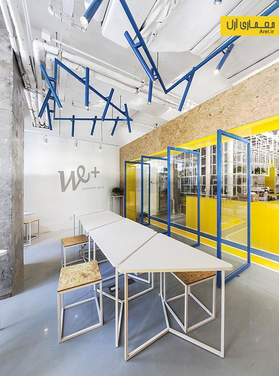 طراحی داخلی دفترکار شرکت MAT  در پکن