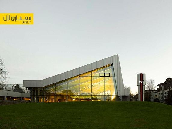 معماری ساختمان،معماری مجموعه ورزشی