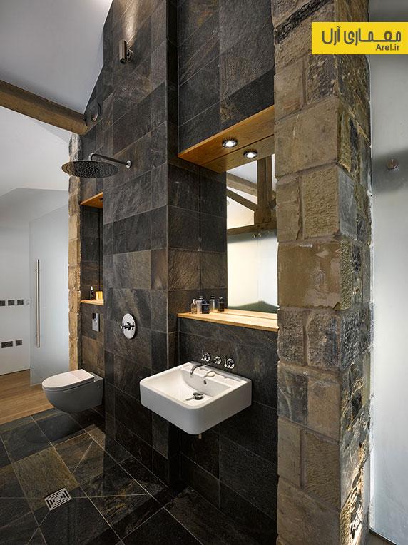 بازسازی و طراحی داخلی مجدد یک سوله قدیمی متعلق به قرن 16 در انگلستان