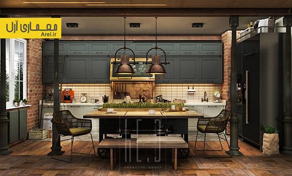 طراحی داخلی با آجر،استفاده از آجر در دکوراسیون داخلی