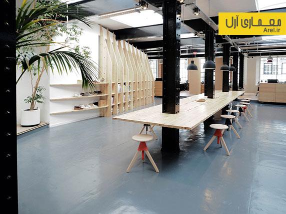 نگاهی به طراحی داخلی استودیو طراحی کفش های کلارکس انگلستان