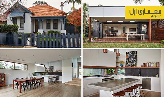 طراحی داخلی مجدد و بازسازی یک ساختمان قدیمی و تاریخی در سیدنی