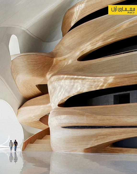 معماری و طراحی خانه ی اپرای Harbin در چین