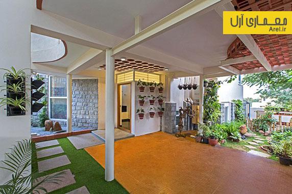 طراحی داخلی و بازسازی آپارتمان مسکونی در بنگلور
