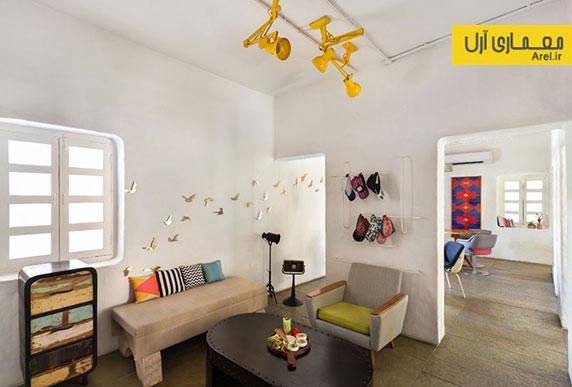 طراحی داخلی کافه هنر project cafe