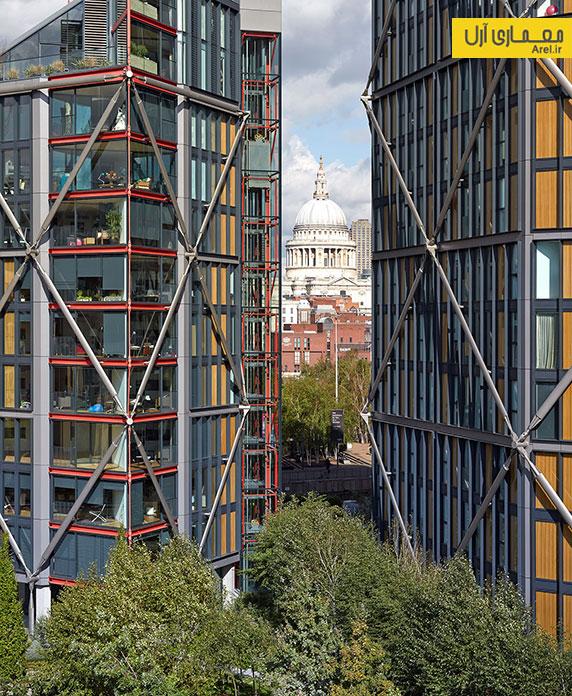 معماری و طراحی مجتمع مسکونی در لندن توسط ریچارد راجرز
