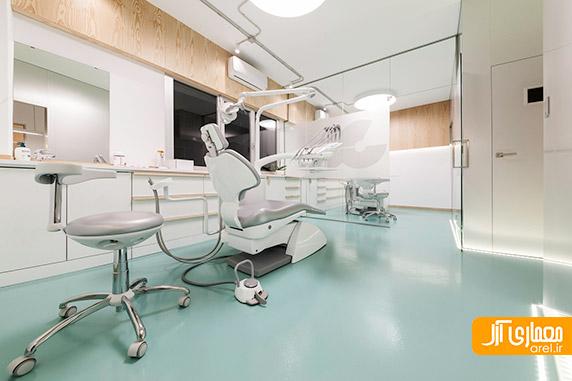 طراحی داخلی کلینیک دندانپزشکی مدرن،معماری داخلی مطب پزشکی