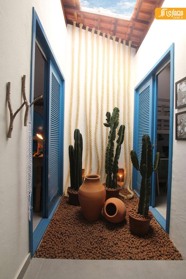 طراحی داخلی شگفت انگیز خانه برزیلی