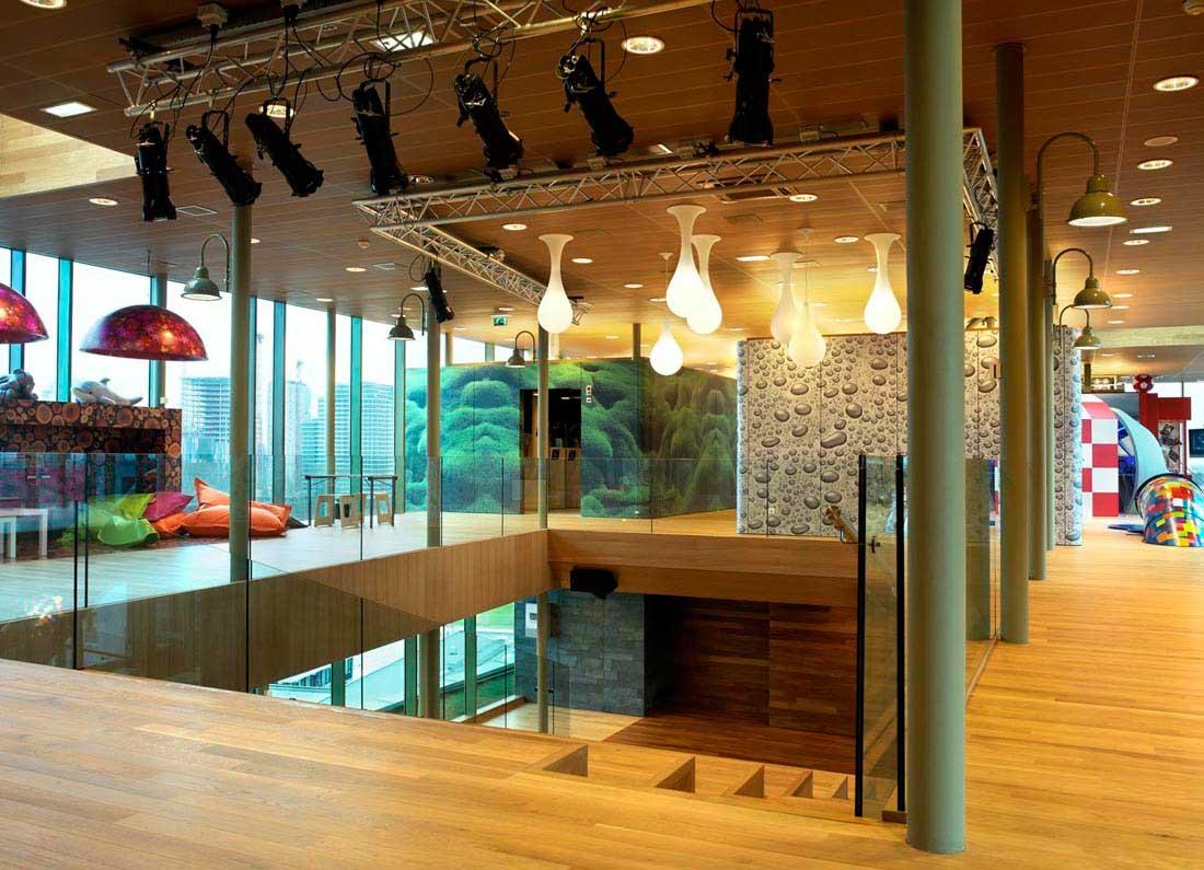 طراحی داخلی مرکز درمانی کودکان