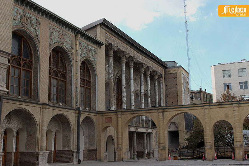 شنبه های نگاه آرل به تهران: عمارت مسعودیه