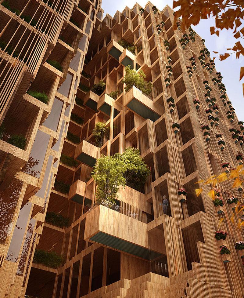 طراحی مجتمع مسکونی شار هومن بالازاده
