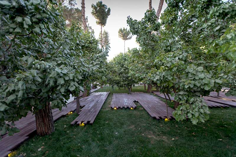 طراحی فضای سبز و محوطه سازی