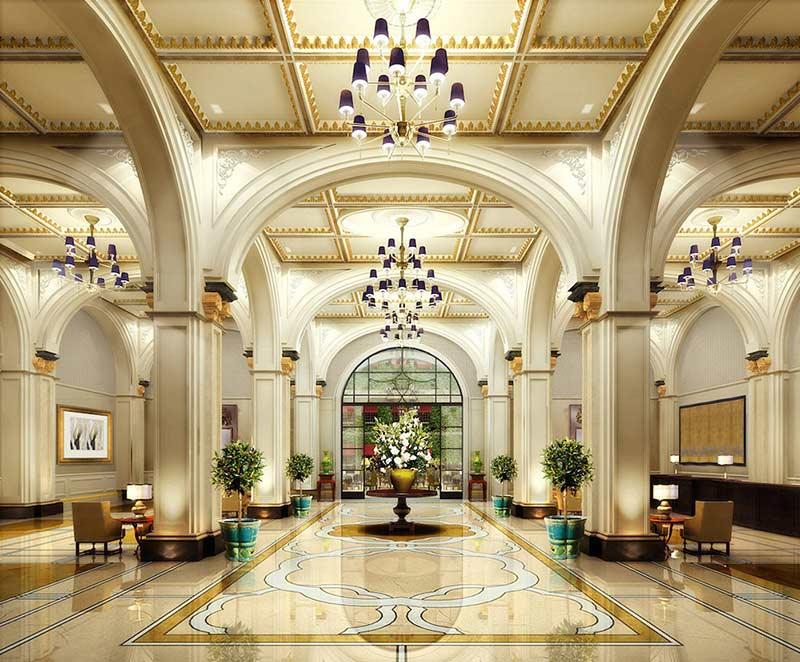 35 نمونه طراحی داخلی لابی هتل، با سبک های متنوع آرل