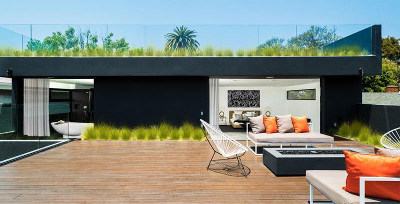 طراحی تراس و پشت بام