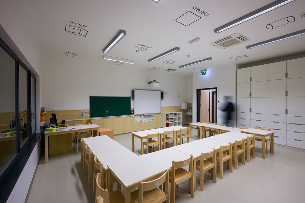 تلگرام طراحی داخلی خلاقانه مدرسه ابتدایی | آرل