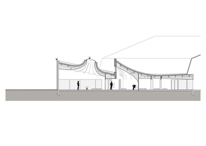 طراحی باشگاه تنیس استراسبورگ
