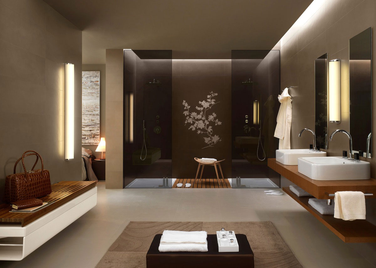 طراحی داخلی سرویس بهداشتی مدرن