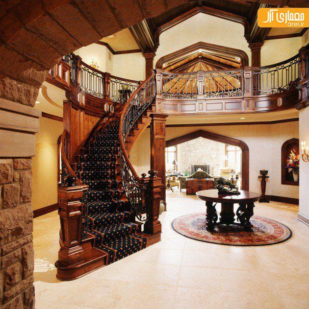 Beautiful Front Hall And Staircase: 35 نمونه طراحی راه پله مدرن و خلاقانه