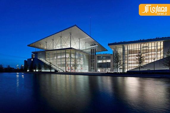 معماری مجموعه  فرهنگی توسط رنزو پیانو