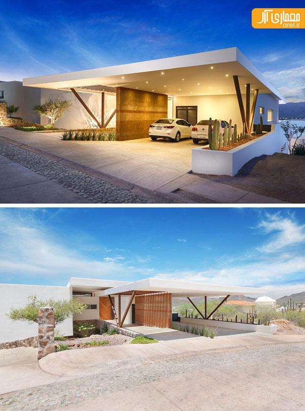 معماری و طراحی داخلی ویلا