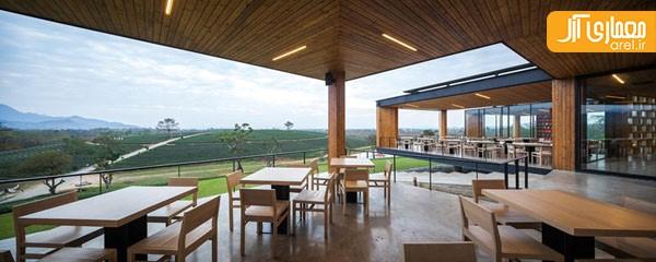 معماری کافی شاپ و چایخانه
