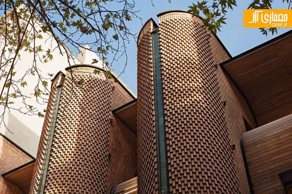 10 نمای آجری ایرانی از نگاه آرک دیلی