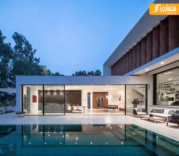 A Luxury Mansion L: طراحی ویلای دوبلکس به سبک مدرن