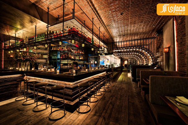 Americas Bar: Kat & Theo (New York, USA) / Aviva Collective