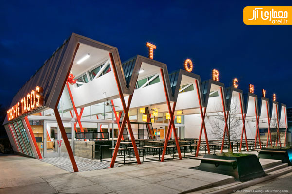 Outside: Torchy's Tacos (Austin, USA) / Chioco Design