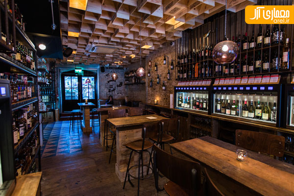 Vagabond Wines (Spitalfields, London, UK) / Finch Interiors