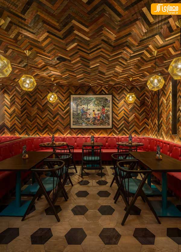 Nando's (Old Street, London, UK) / moreno:masey architects+interiors