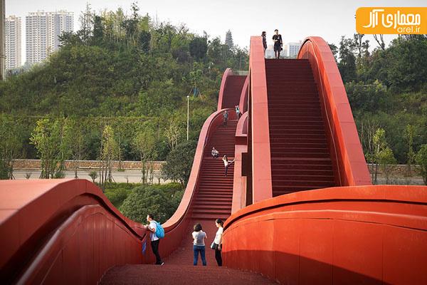 طراحی جالب پل عابرپیاده