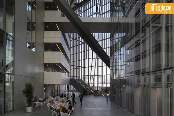 طراحی داخلی بانک مرکزی اروپا