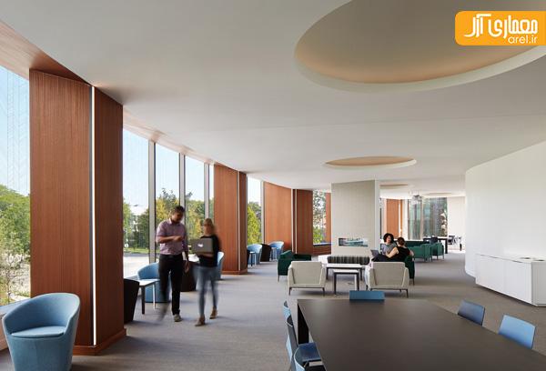 معماری و طراحی داخلی پردیس شمالی دانشگاه شیکاگو